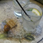 Traditional lemonade at the Kyparissia Old Watermill