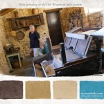Grinding flour at the Old Watermill color palette
