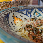 Poetry of material things-Spaghetti with tuna, capers and kritamo